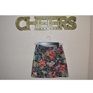 Used Lush floral skirt